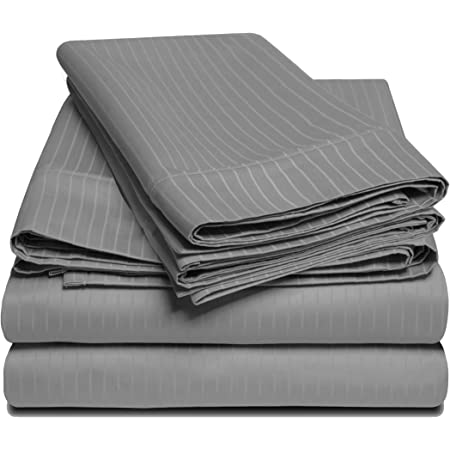 Details about  /Top Quality 1000 TC Superior 4 PCs Attached Water Bed Sheet Set Select Size
