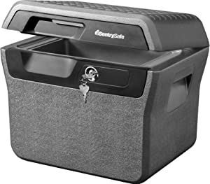 SentrySafe FHW40100 Fireproof Waterproof Box with Key Lock, 0.66 cu. ft