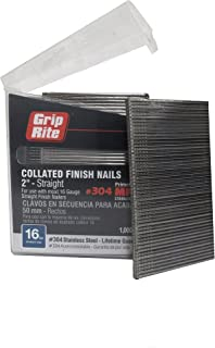 Best 16 gauge stainless steel finish nails Reviews