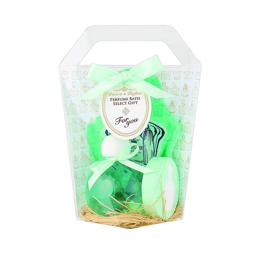 誰小競り合い予備デコラパルファム バスバッグセット スイートジャスミン(入浴剤)