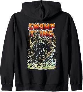 Justice League Swamp Thing Zip Hoodie
