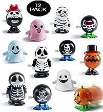 Prextex Halloween Goody Bag Wind Up Toys 12 Pack Halloween Toy Assortment Goody Bag Filler