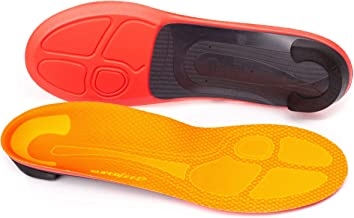 Superfeet Run Pain Relief Insoles, Customizable Heel Stability Professional-Grade Orthotic Insert for Maximum Support