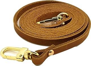 Genuine Leather Crazy Horse Leather Bag Strap Replacement for pochette acceessoires eva felicie Mini Pouch Favorite Purses Handle DIY Craft (130 cm / 51.2
