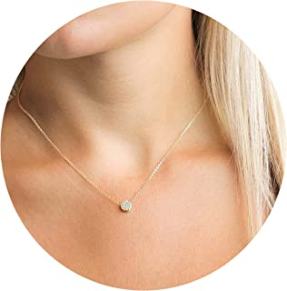 Best small gold necklace Reviews