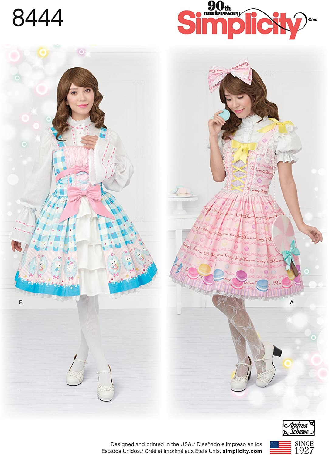 We OFFer Baltimore Mall at cheap prices Simplicity 8444 Women's Costume Dress Patterns Sewing Si Outfit