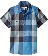 Burberry Kids - Mini Camber Shirt (Little Kids/Big Kids)