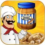 Peanut butter maker cooking