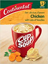 Continental Cup-A-Soup Chicken With Lots Of Noodles 2 pack 60g