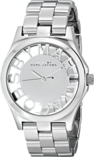 Marc by Marc Jacobs Women's MBM3205 Skeleton Stainless Steel Watch with Link Bracelet
