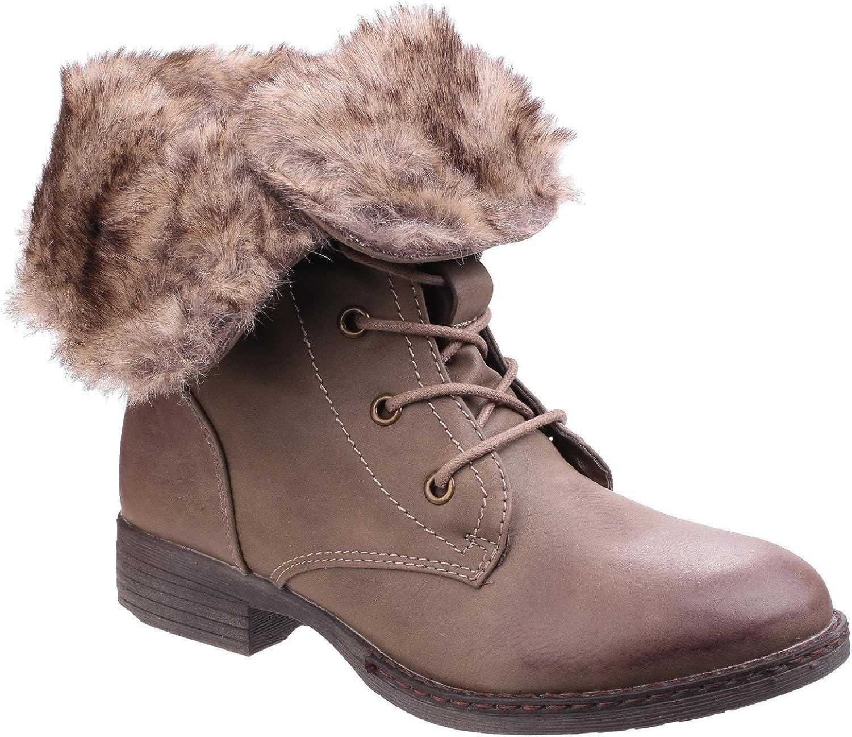 Divaz kvinnor kvinnor kvinnor Leigh Lace Up Ankle Boot  förstklassiga kvalitet först