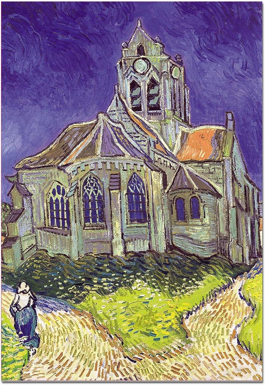 Educa - 1500 Teile - Van Gogh  Die Kirche von Auvers sur Oise