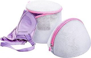 TraderPlus Set of 5 Lingerie Bra Wash Bag Laundry Underwear Care Mesh Washing Bag Travel Organizer