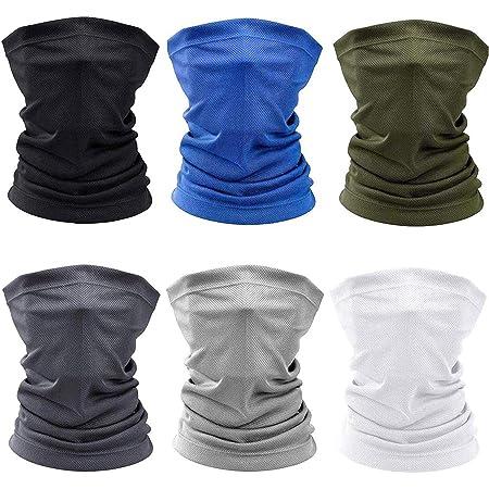 Lazzboy Unisex Kopftuch Multifunktions Nahtlose Bandana Kopfbedeckung Stirnband Schal Sport Headwrap Tube Bandanas F/ür /& Outdoor Camping Wandern