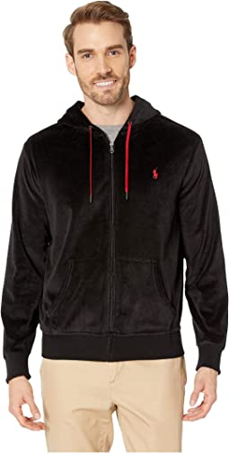 Velour Track Full Zip