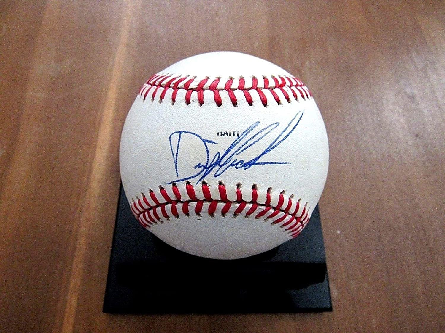 Dwight Gooden Signed Baseball  Doc 1985 Roy Cy Yankees VTG 89 A s  JSA Certified  Autographed Baseballs