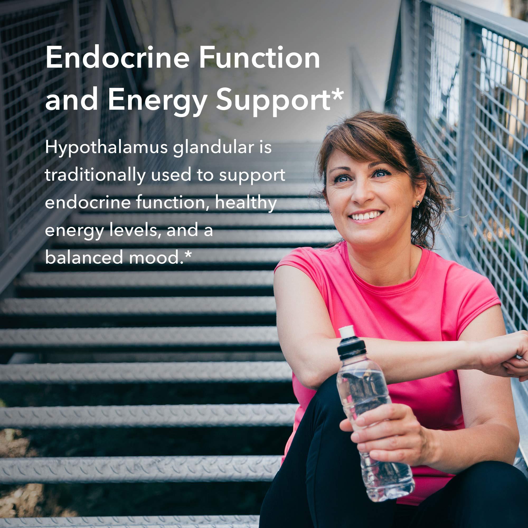 Allergy Research Group - Hypothalamus- Natural Glandular - Endocrine, Energy Support - 100 Vegicaps