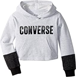 Converse Kids - Lurex Fleece Pullover (Toddler/Little Kids)