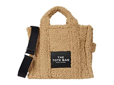 Marc Jacobs The Teddy Small Traveler Tote (Beige) Tote Handbags