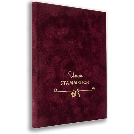 Stammbuch Aile C/üzdani Skrift Bordeaux Stammbuch der Familie Familienstammbuch Hochzeit