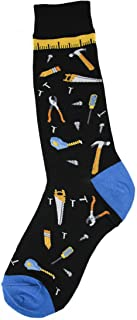 Foot Traffic, Men's Special Interest Socks, Barber Shop (Shoe Sizes 7-12)-12