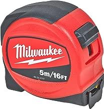 Milwaukee 4932451640/argento Flessometro C8//25 rosso//nero//argento