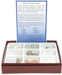 American Educational 10 Piece Scale of Hardness Collection with Diamond