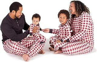 Family Jammies, Buffalo Check, Holiday Matching Pajamas, 100% Organic Cotton