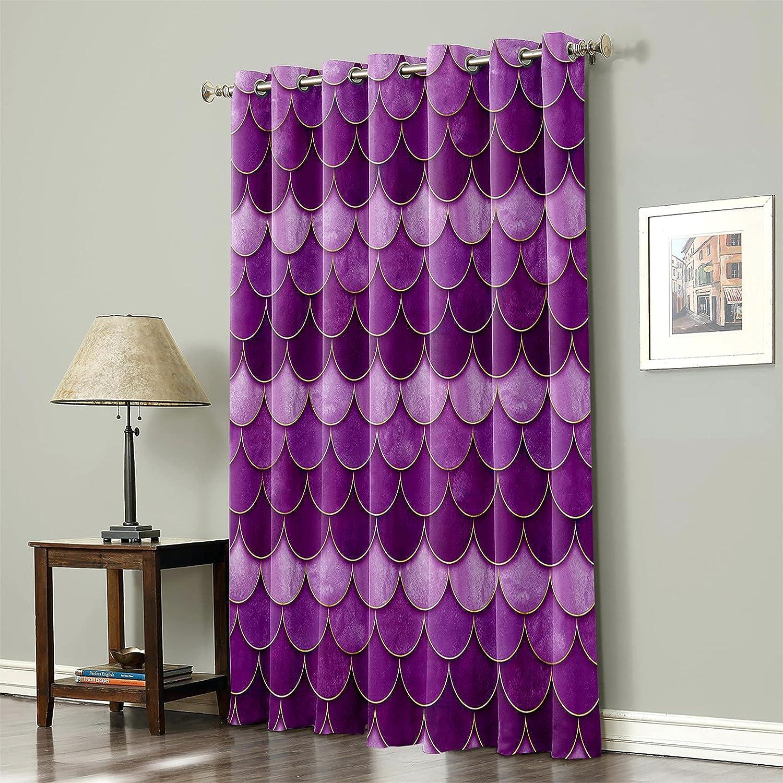 Blackout Curtain Popular popular Room Darkening Window Drea Summer Ocean SEAL limited product