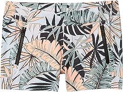 Tiki Pink Tropical Print
