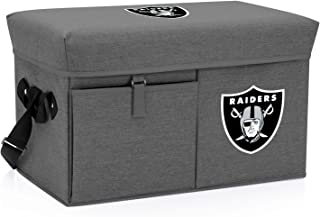 NFL Oakland Raiders Ottoman Insulated Collapsible Cooler/Picnic Tote