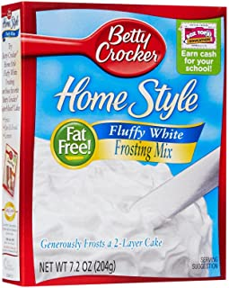 Betty Crocker Home Style Frosting Mix – Fluffy White – 7.2 oz
