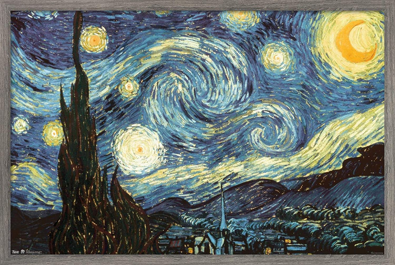 Trends Max 63% OFF International Starry Night Wall 22.375
