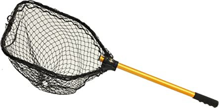 Frabill Power Stow Net 20x24 Hoop 36in Sliding Handle, Premium Landing Net, Multi, 10 x 39-Inch (3706)