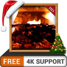 Cozy Fireplace HD FREE - Decor your TV Room with Hot Romantic Fireplace on your 4K TV and Fire Devices as a wallpaper and Theme for Mediation & Peace during Christmas Winter Season