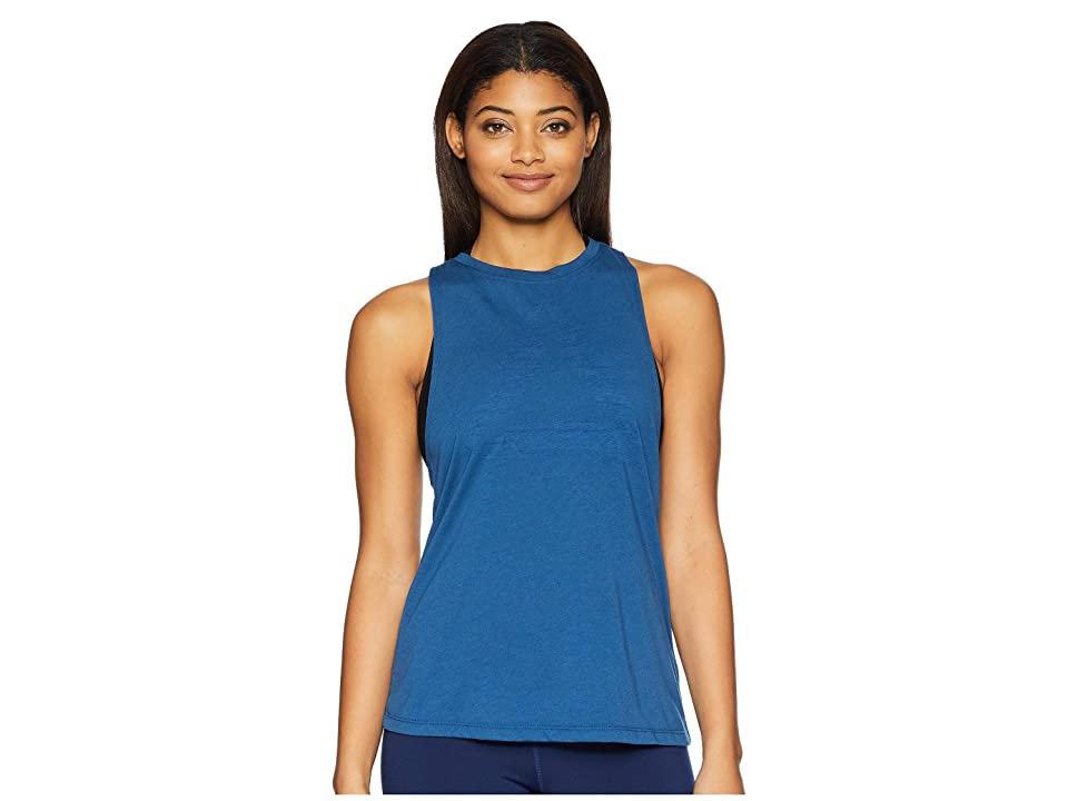 Reebok Burnout Tank Top (Bunker Blue) Women