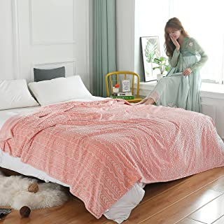 TUOYX- Les couvertures en Polaire épaisse sont Douces et Confortables et Peuvent être utilisées comme draps de lit, Couvr...