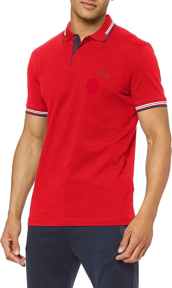 Hugo boss polo , maglietta a maniche corte per uomo , 92% cotone, 8% elastan , taglia xl 50412675A
