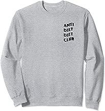 Anti Diet Diet Club Sweatshirt (Heather Grey)
