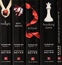 The Twilight Saga Complete 5 Book Paperback Collection: Twilight / New Moon / Eclipse / Breaking Dawn / Short Second Life of Bree Tanner