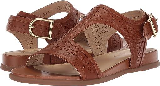 Tan Perf Leather