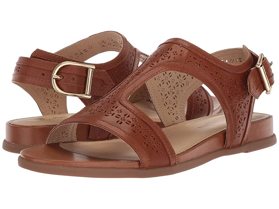 Hush Puppies Dalmatian T-Strap (Tan Perf Leather) Women