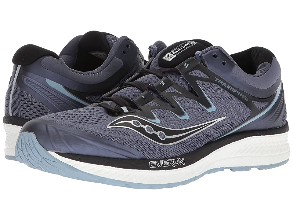 Saucony Triumph ISO 4 (Grey/Black) Men