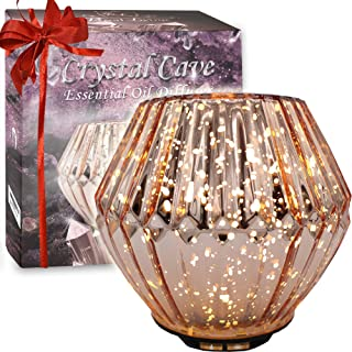 Royal Living Crystal Cave Essential Oil Diffuser, Ultrasonic Aromatherapy Humidifier (Rose Gold)