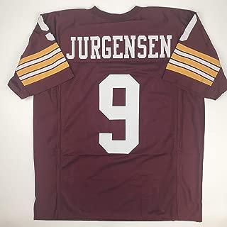 Unsigned Sonny Jurgensen Washington Burgundy Custom Stitched Football Jersey Size XL New No Brands/Logos