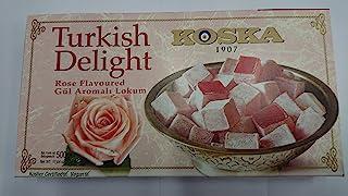 Turkish Delight, Rose Lokum 500 gr, glutenvrij.