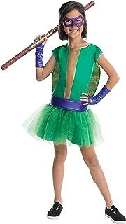 Rubie's Teenage Mutant Ninja Turtles Deluxe Child's Donatello Costume Tutu Dress, Small