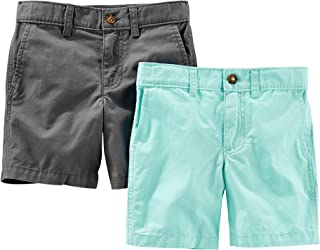 Simple Joys by Carter's Toddler Boys' 2-Pack Flat Front Shorts