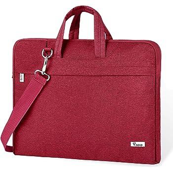 Voova 17 17.3 Inch Laptop Bag Briefcase Waterproof Computer Handbag Carrying Case with Organizer for Men//Women//Business//Travel//College//School Expandable Multi-function Shoulder Messenger Bag
