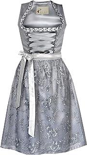Alte Liebe Trachtenkleid 2tlg. Damen Dirndl Kleid Gr. 34,36,38,40,42,44,46